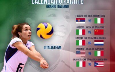 Partite Nazionale Italia Femminile alle Olimpiadi