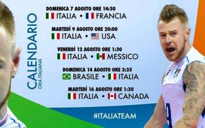 Partite Nazionale Italia Maschile alle Olimpiadi
