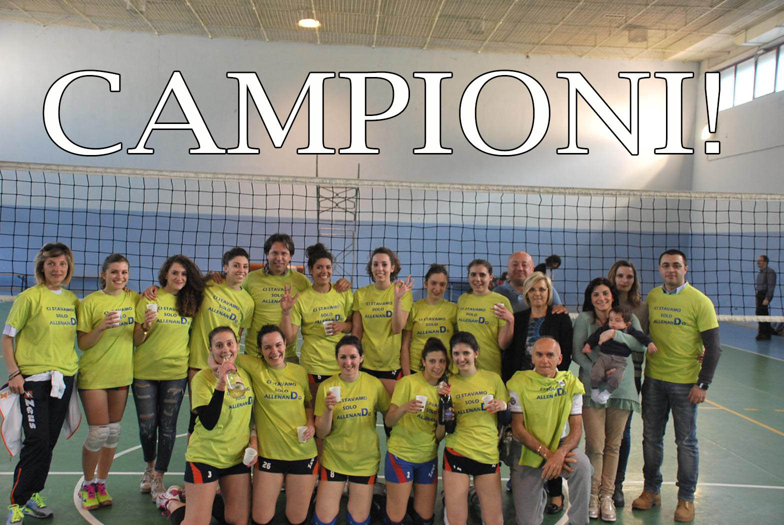 2015-04-25 - 1DIVF - Axa Lanni Venafro Volley vs Rental Cus Molise - CAMPIONI