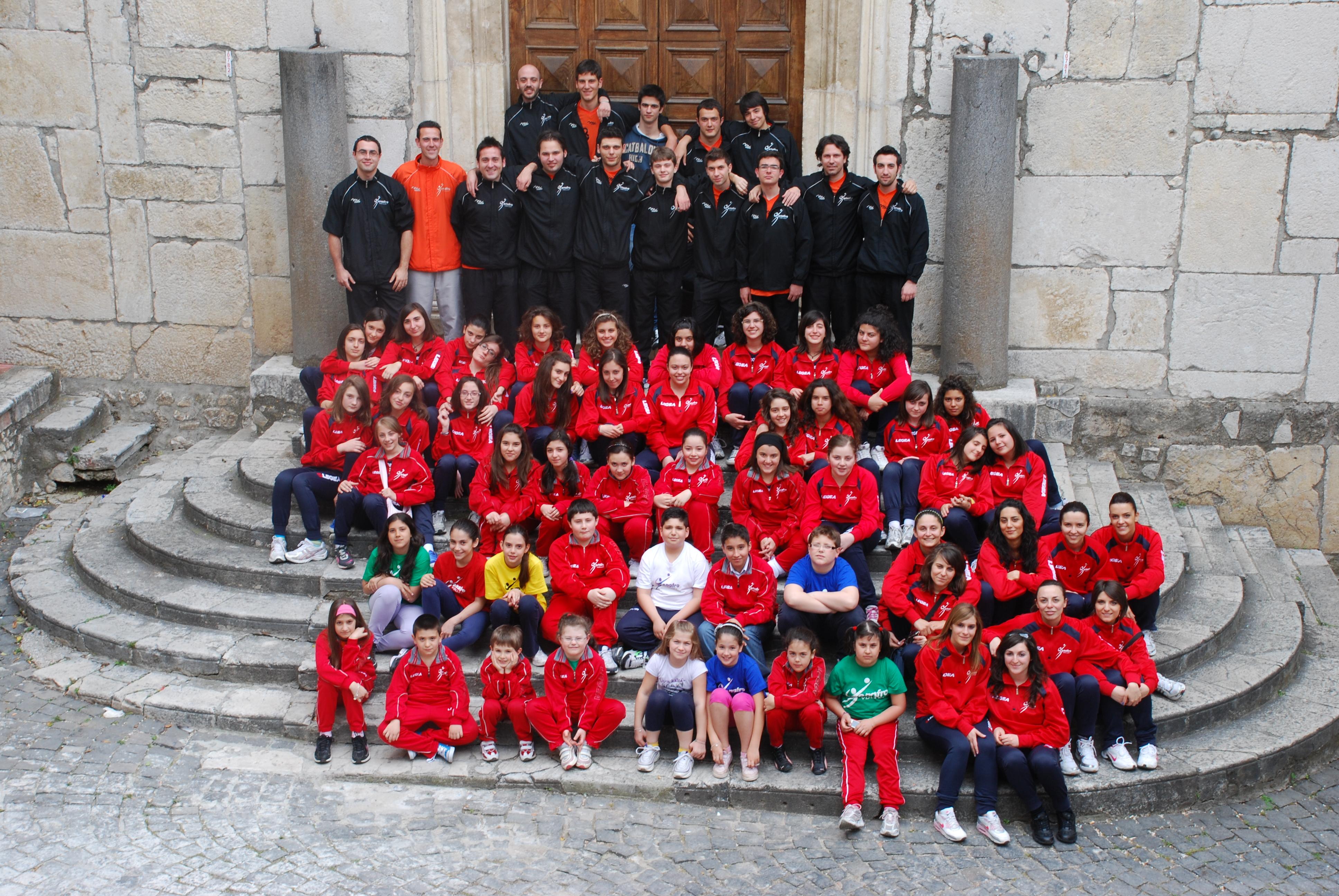 Foto di gruppo 2009-2010