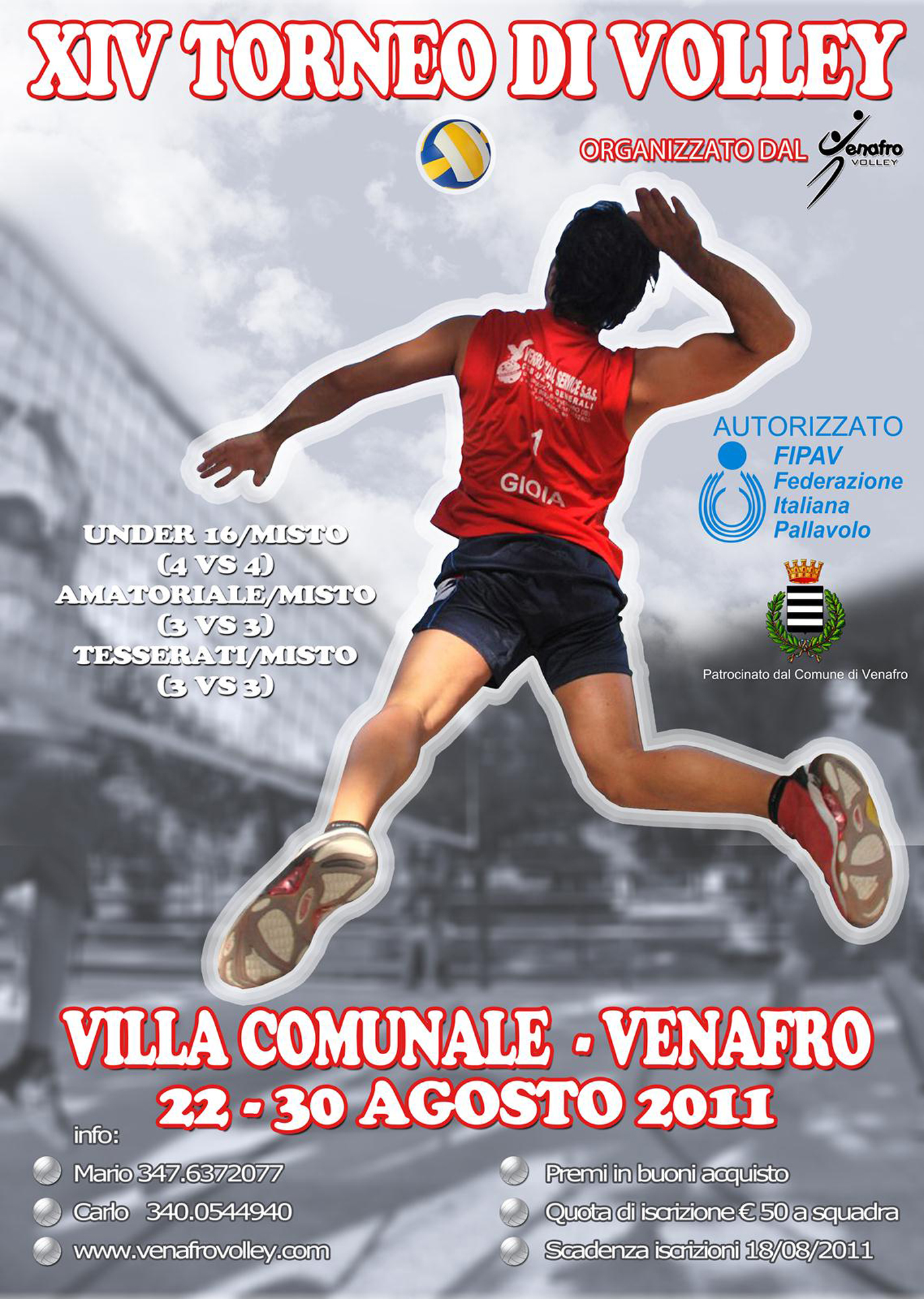 XIV TORNEO DI VOLLEY