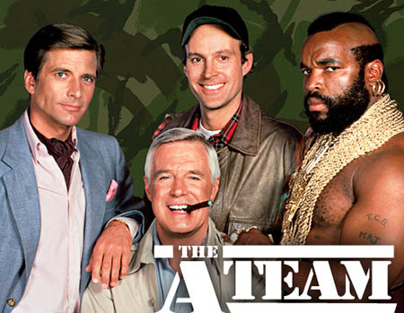 The A-Team NBC tv show image