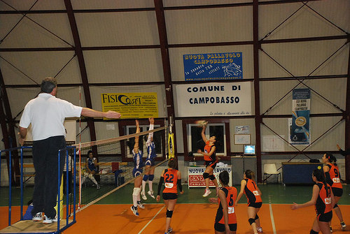 2014-11-30 - 1DivF - Nuova Pallavolo CB  vs Axa Lanni Venafro Volley foto1